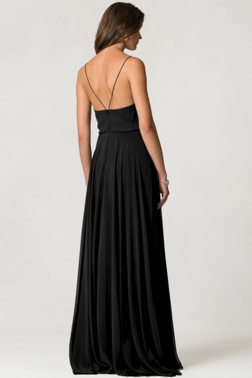 Inesse Bridesmaids Dress by Jenny Yoo - Black