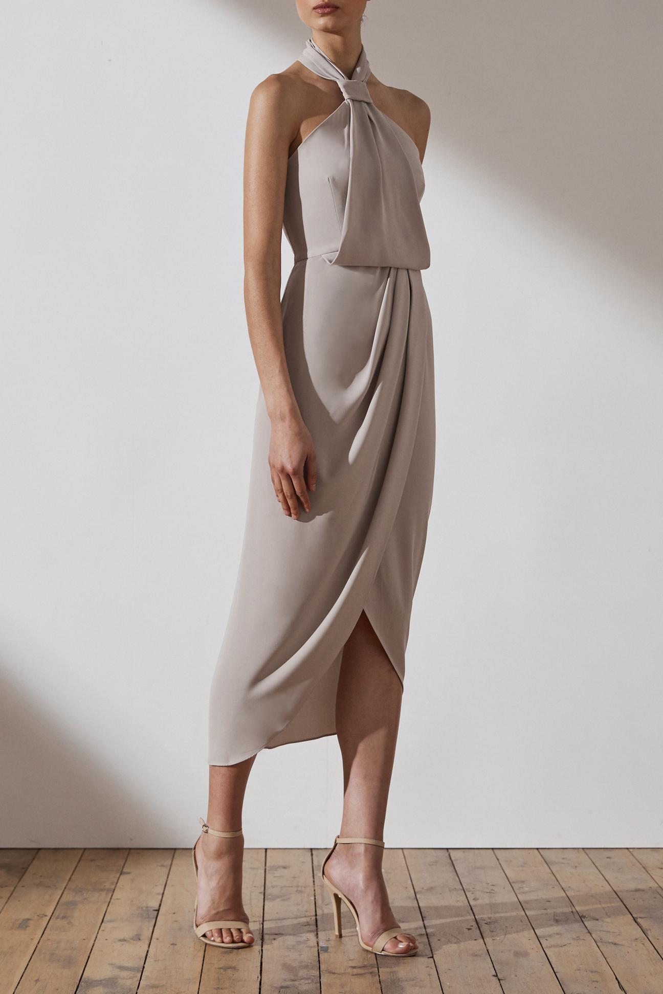 Shona Joy Amanda Knot Dress