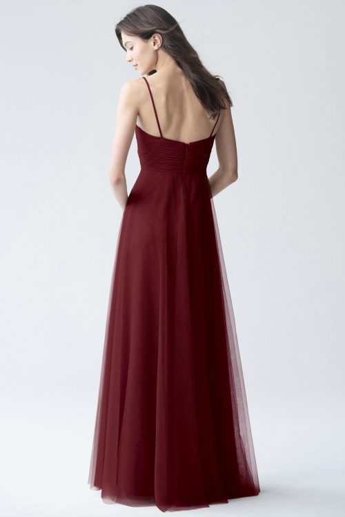 Brielle Bridesmaids Dress by Jenny Yoo - Cabernet