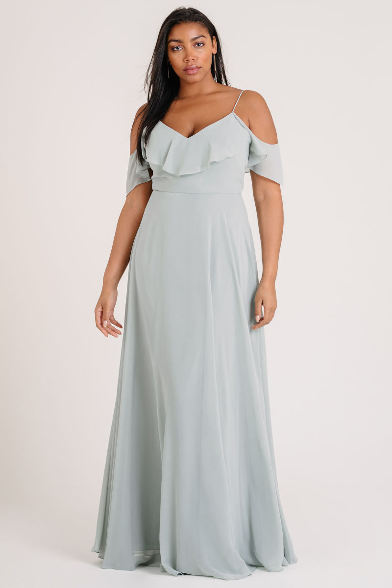 Milana Bridesmaids Dress by Jenny Yoo - Morning Mist