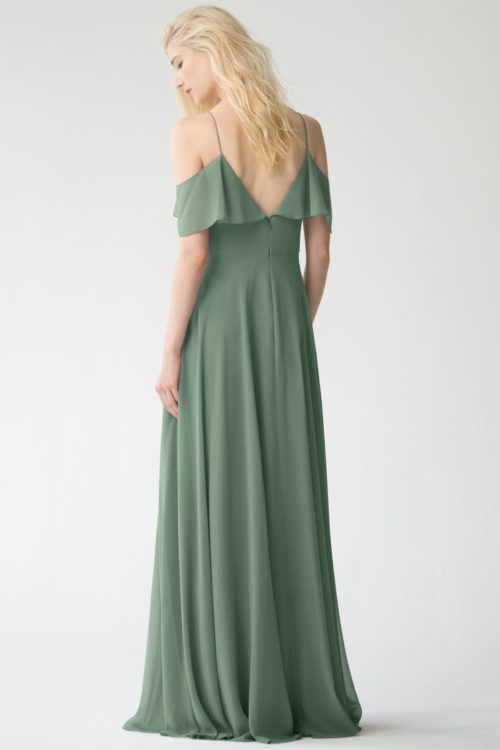Milana Bridesmaids Dress by Jenny Yoo - Eucalyptus