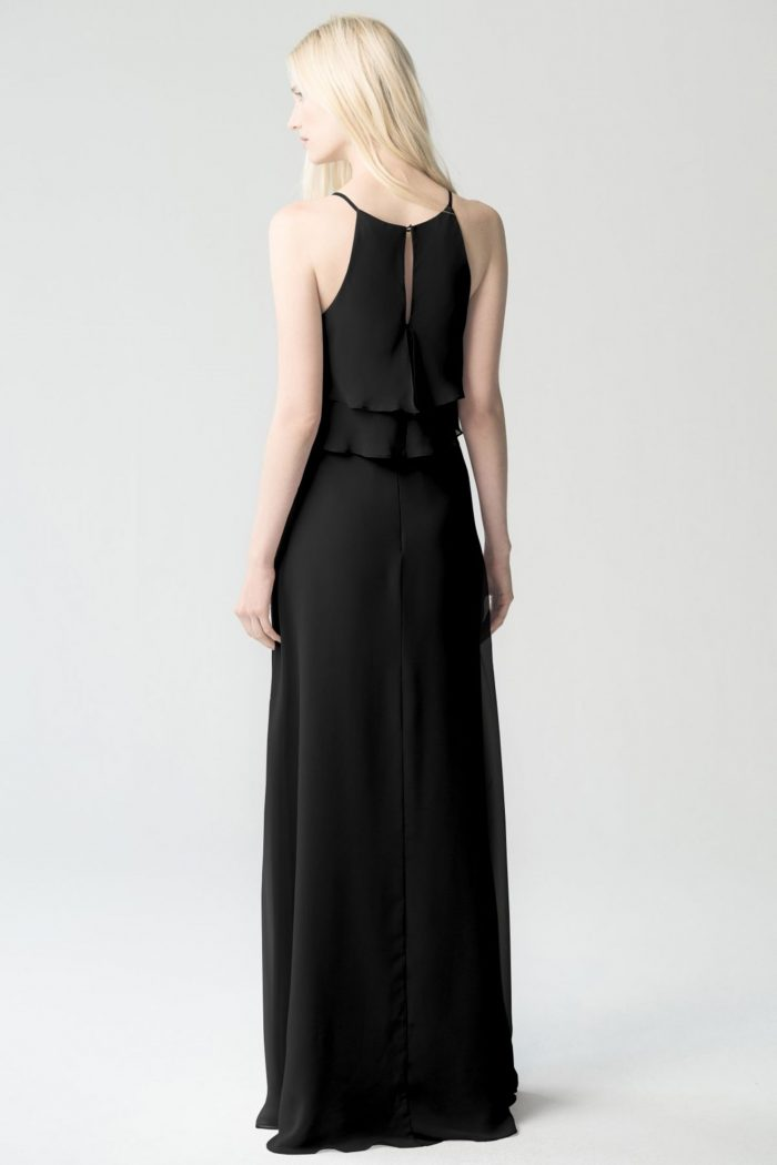 Charlie Bridesmaids Dress by Jenny Yoo - Black