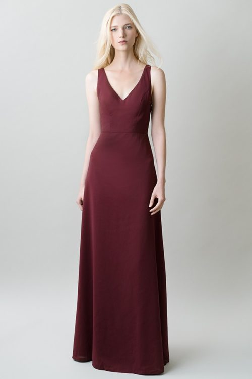 Delaney Bridesmaids Dress by Jenny Yoo - Hibiscus