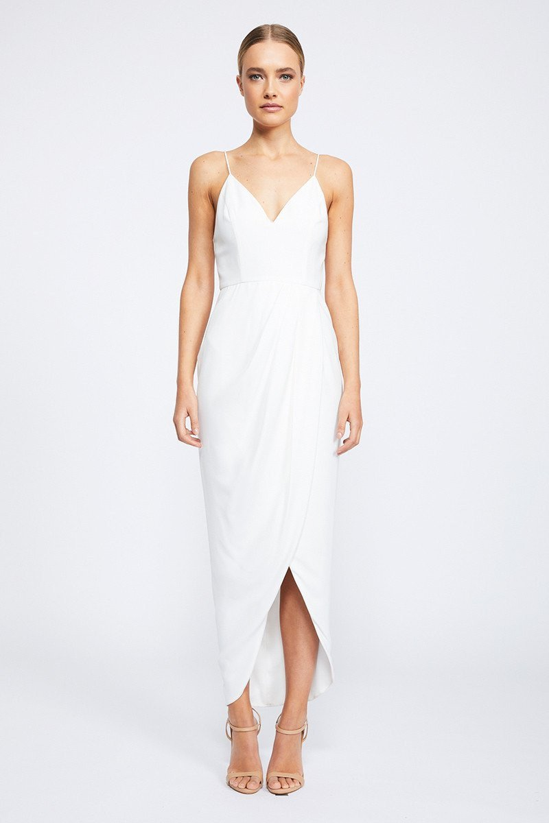 Samantha Core Cocktail Dress by Shona Joy - Ivory
