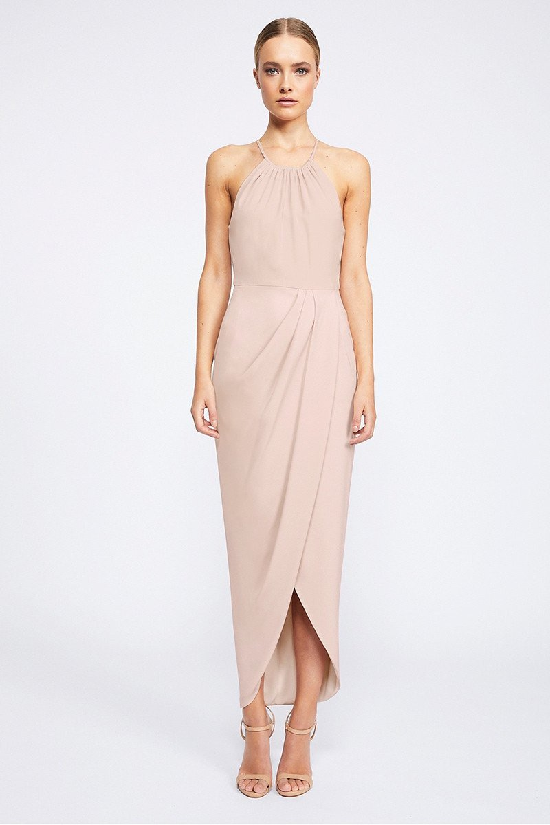 Annalise Core High Neck Ruched by Shona Joy - Ballet