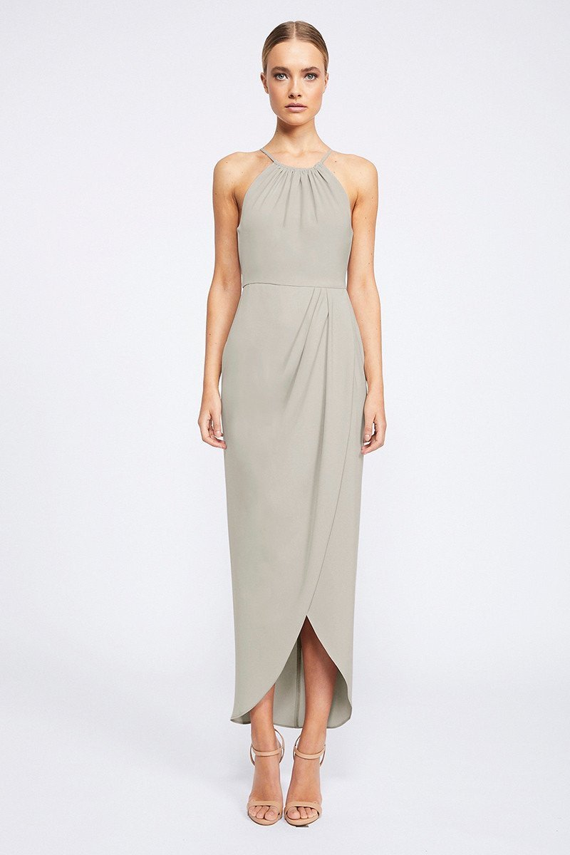 Annalise Core High Neck Ruched by Shona Joy - Oyster