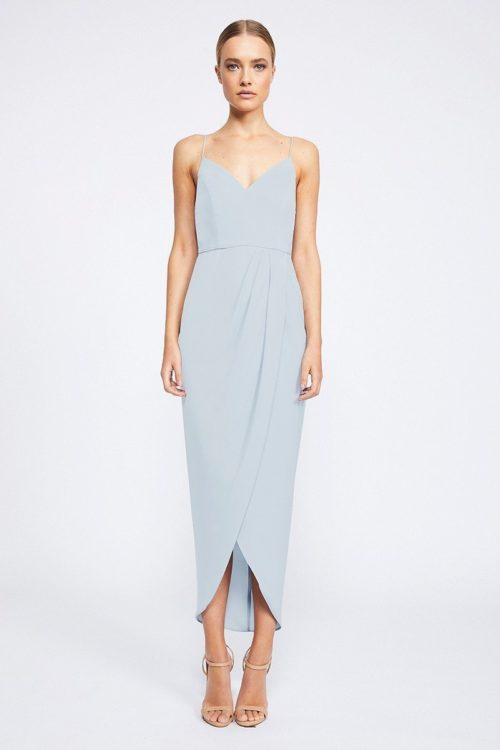 Samantha Core Cocktail Dress by Shona Joy - Powder Blue