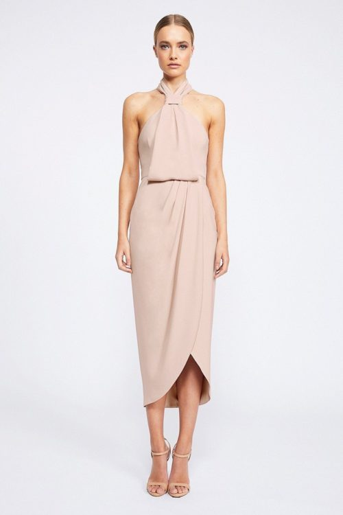 Amanda Core Knot Draped Dress by Shona Joy - Ballet