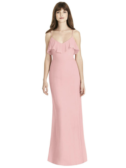 DISCONTINUED TBYB Tilly Bridesmaids Dress by Dessy - Rose