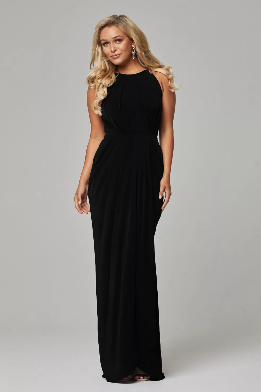 Sandra Bridesmaids Dress by Tania Olsen - Black