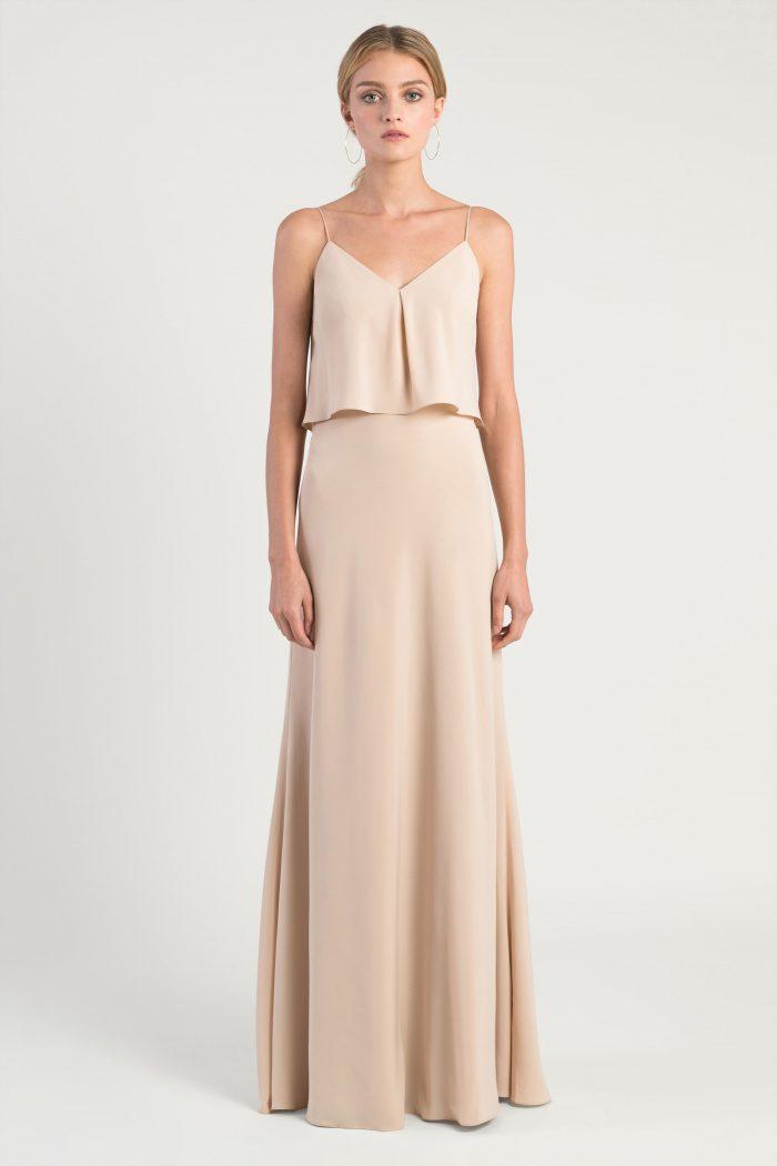 Brie Bridesmaids Dress by Jenny Yoo - Chai