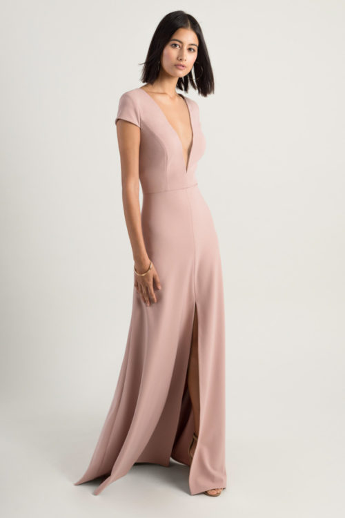 Cara Bridesmaids Dress by Jenny Yoo - Whipped Apricot