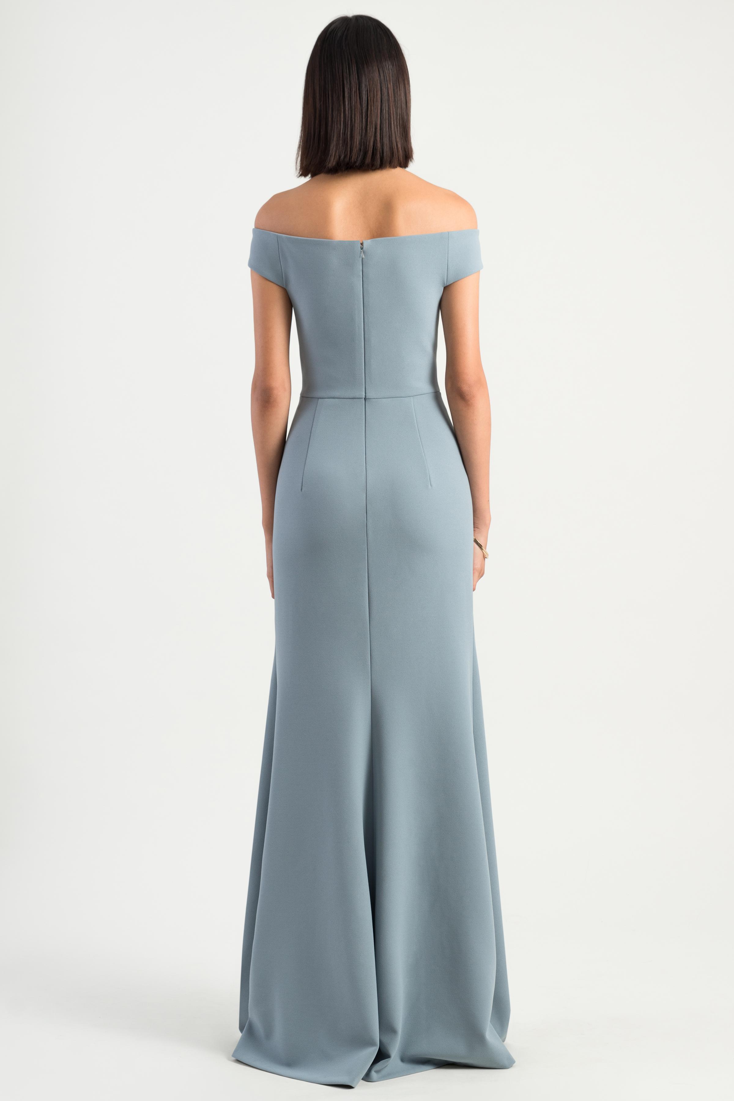 Larson Bridesmaids Dress by Jenny Yoo - Mayan Blue