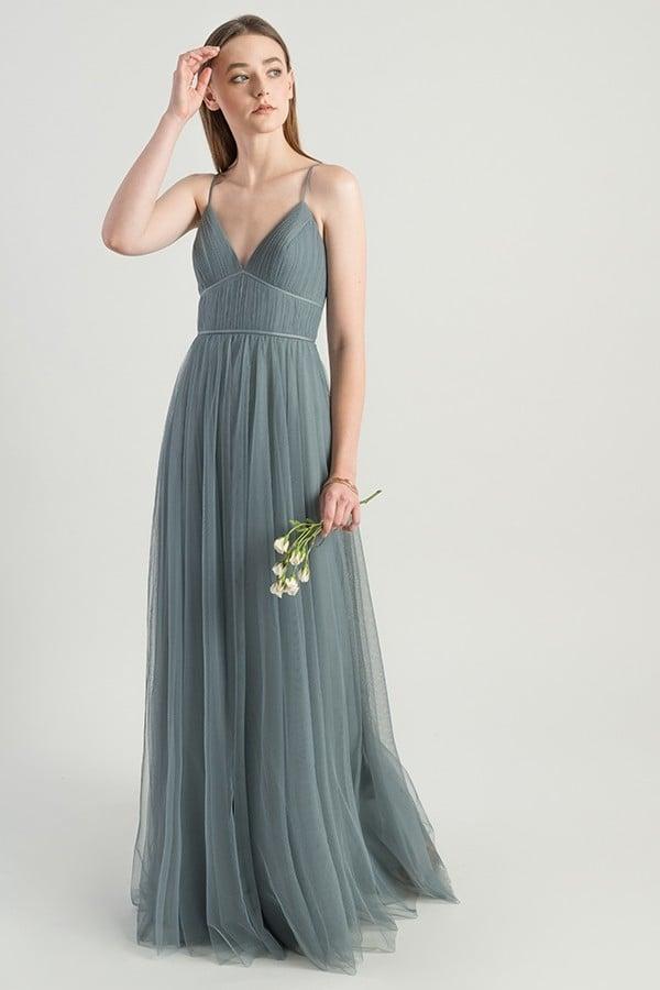Ali Bridesmaids Dress by Jenny Yoo - Mayan Blue