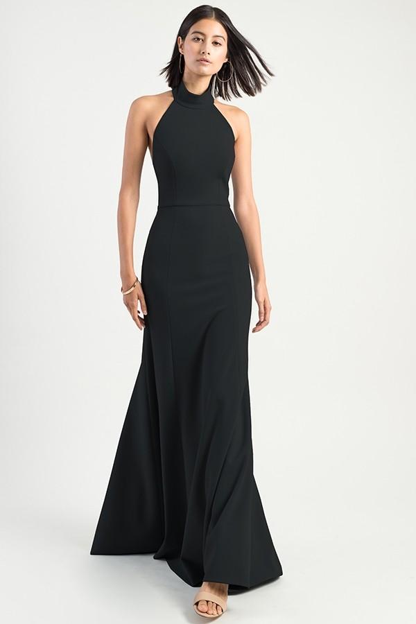 Petra Bridesmaids Dress by Jenny Yoo - Black