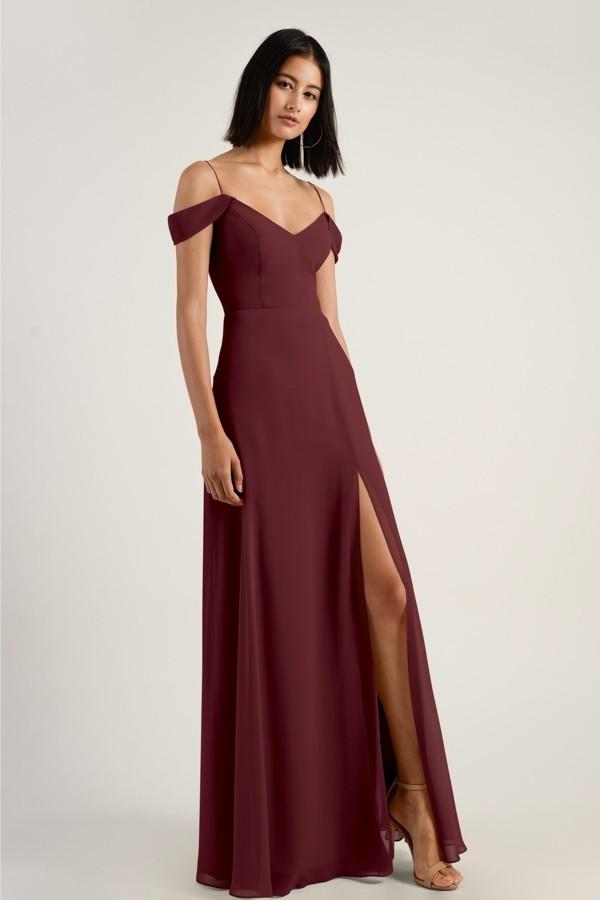 Priya Bridesmaids Dress by Jenny Yoo - Hibiscus