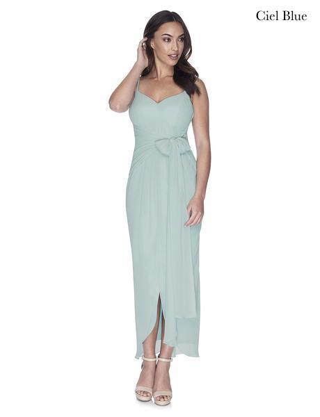Try Before You Buy Bridesmaids Dress Chloe in Ciel Blue