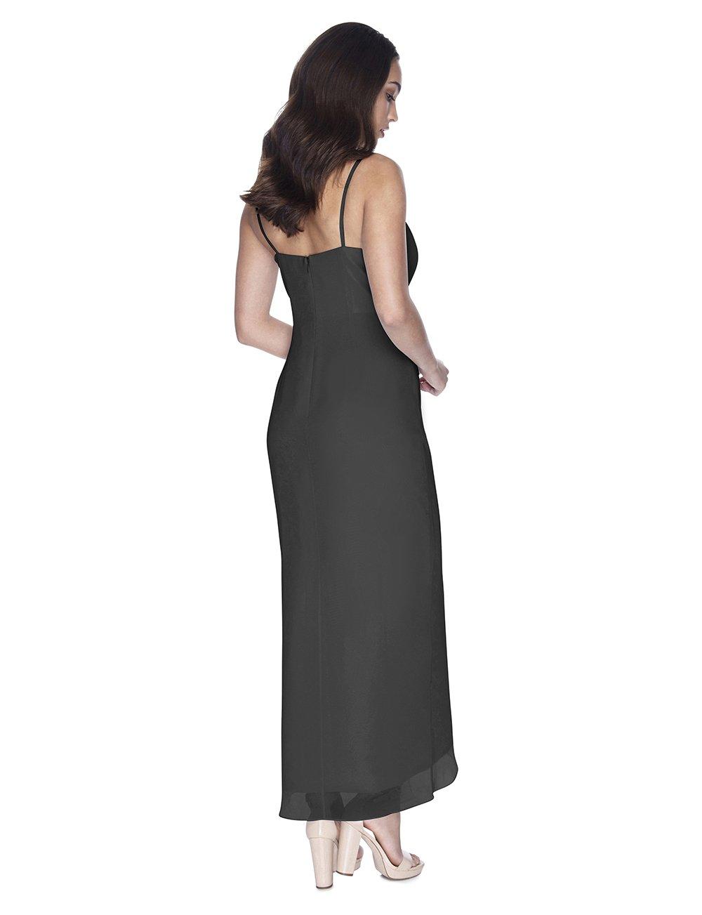 Try Before You Buy Bridesmaids Dress Chloe in Slate Grey