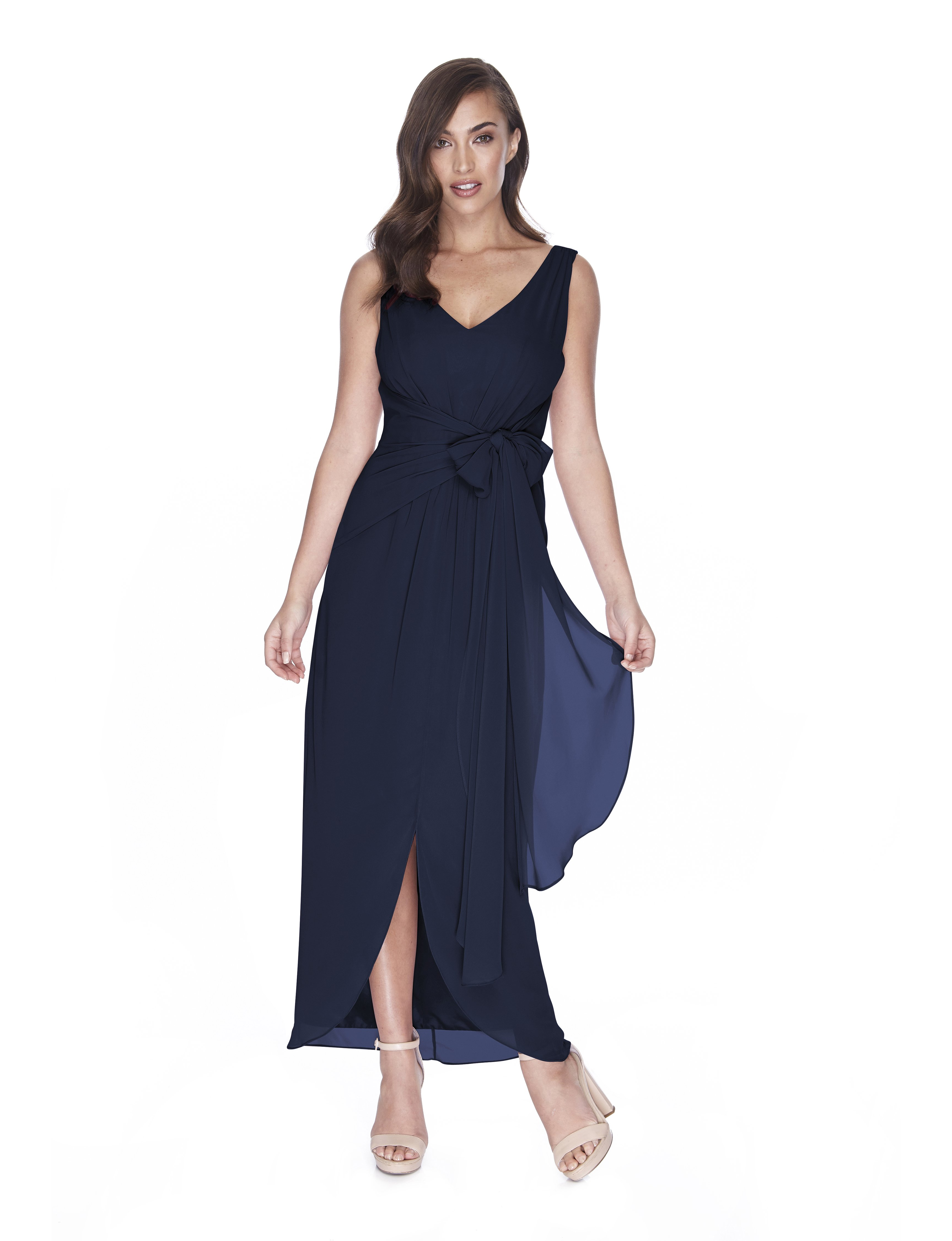 Try Before You Buy Bridesmaids Dress Ella in Navy