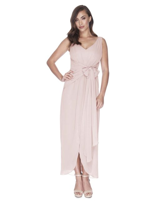Try Before You Buy Bridesmaids Dress Ella in Tea Time