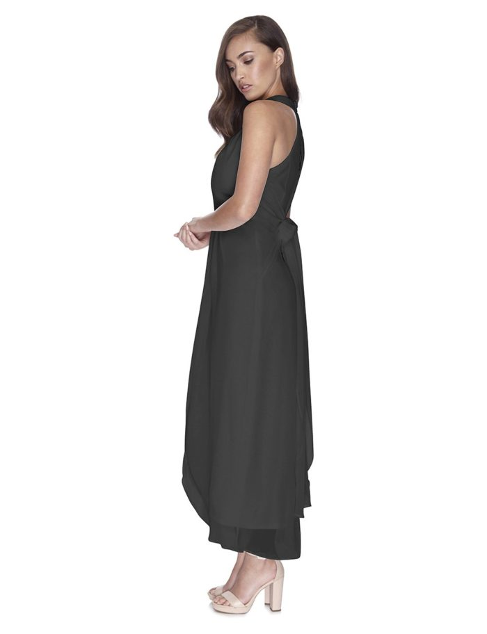 Try Before You Buy Bridesmaids Dress Mila in Slate Grey