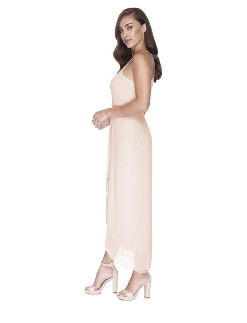 Try Before You Buy Bridesmaids Dress Skye in Barely Blush