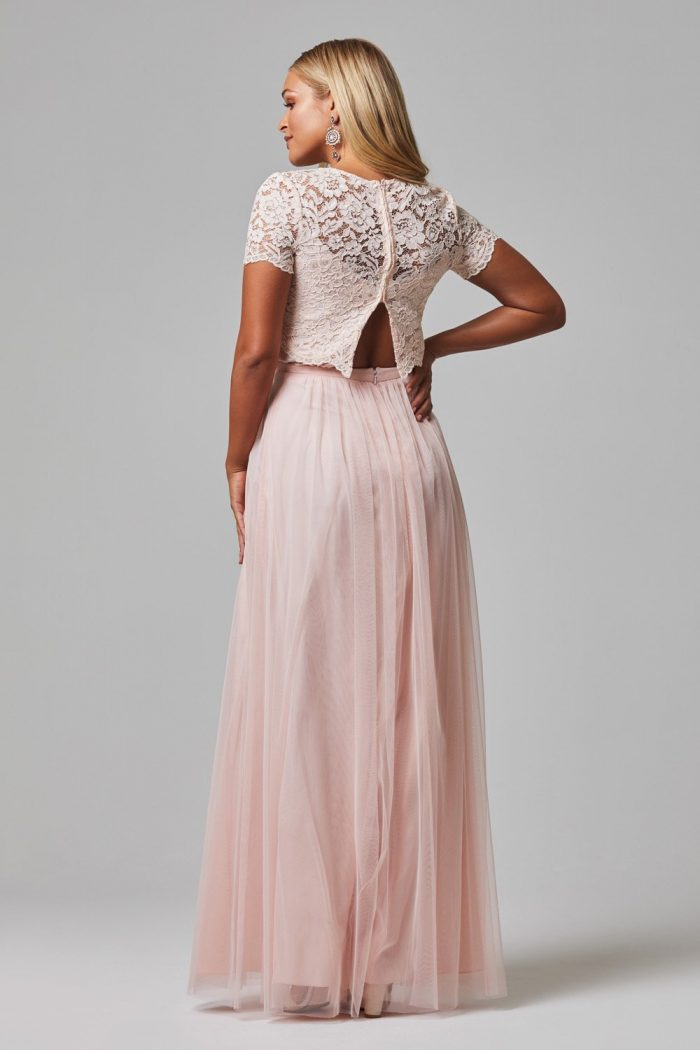 Oaklyn Pink Bridesmaids Dress