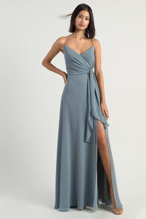 Amara Bridesmaids Dress by Jenny Yoo - Mayan Blue