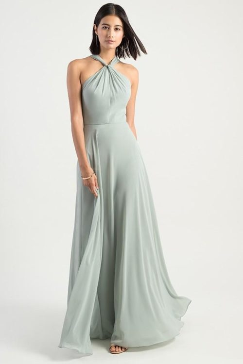 Halle Bridesmaids Dress by Jenny Yoo - Morning Mist