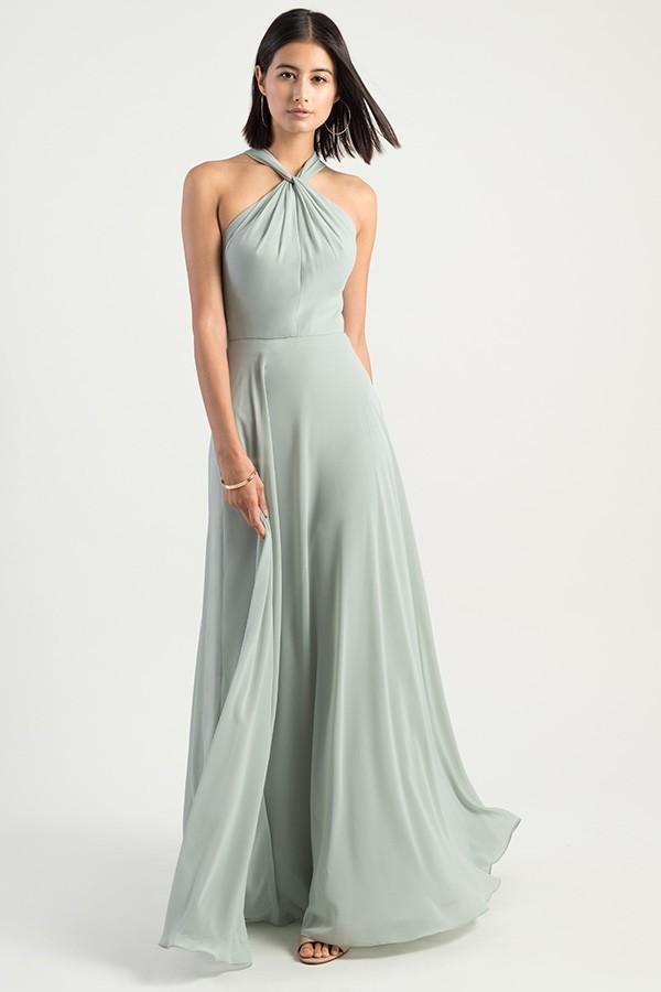 Halle Bridesmaids Dress by Jenny Yoo - Morning Mist