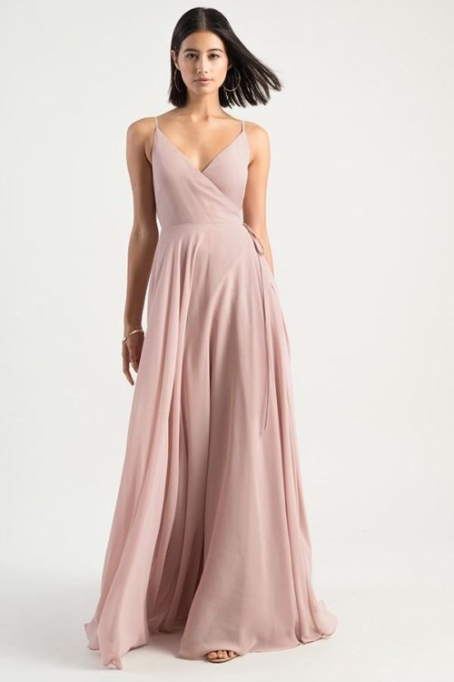 Blush Pink James Bridesmaids Dress