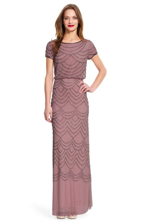 Rose Adrianna Papell Dress