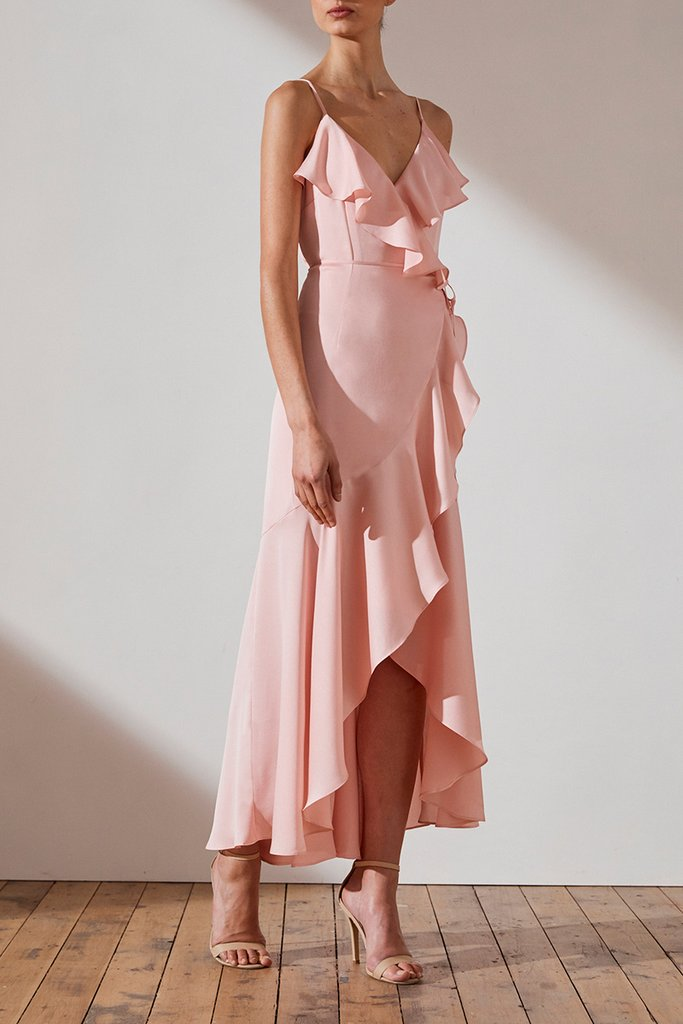 Shona Joy Evie Bridesmaids Dress Petal