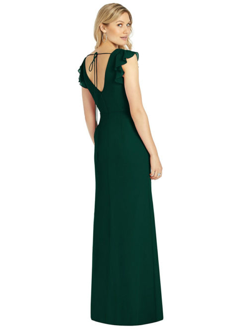 Evergreen Bridesmaids Dress