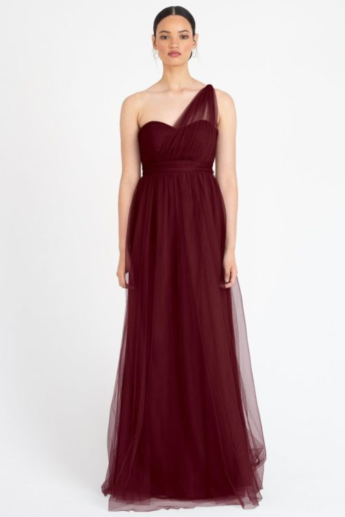 Annabelle Bridesmaids Dress by Jenny Yoo - Cabernet