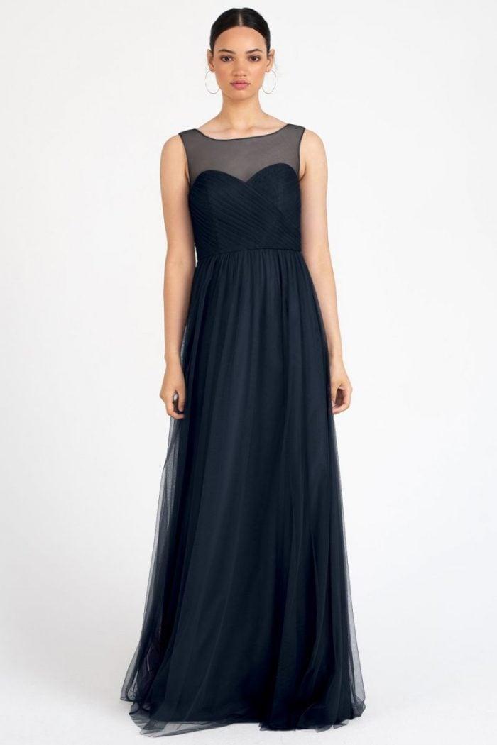 Aria Bridesmaids Dress by Jenny Yoo - Navy
