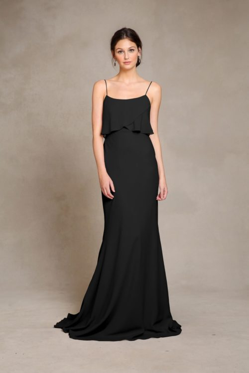 Blake Bridesmaids Dress by Jenny Yoo - Black
