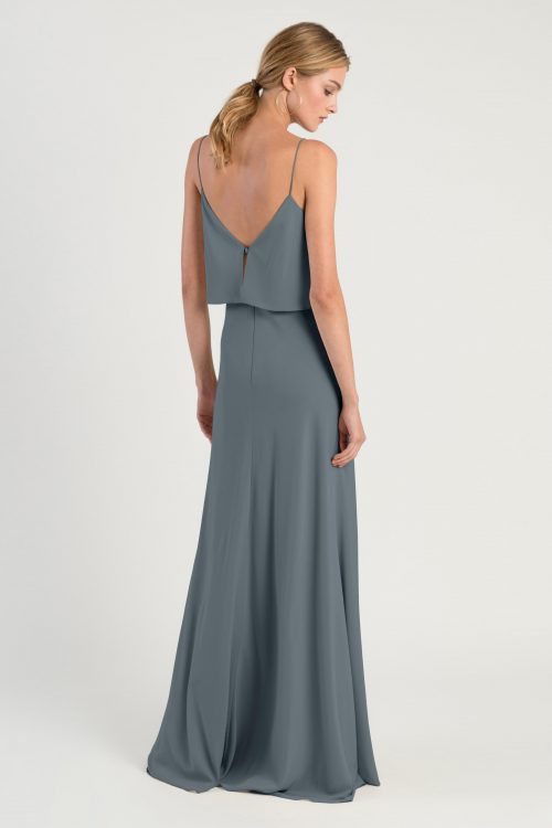 Brie Bridesmaids Dress by Jenny Yoo - Denmark Blue