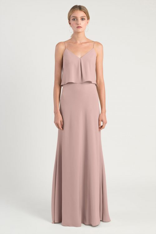 Brie Bridesmaids Dress by Jenny Yoo - Whipped Apricot