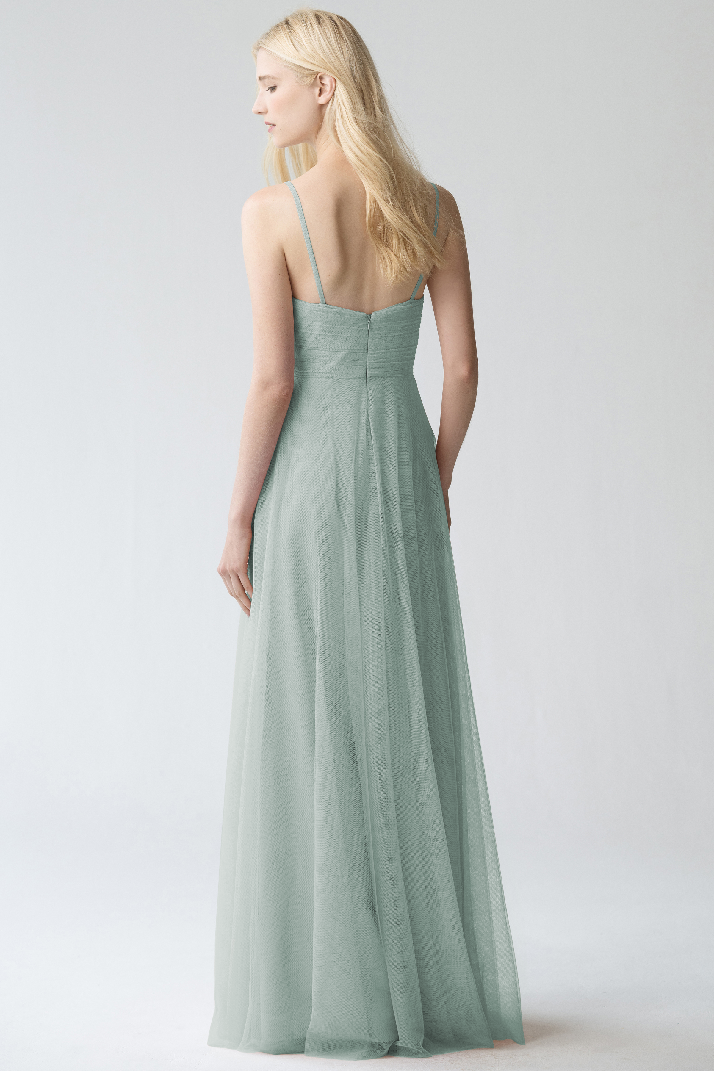 Brielle Applique Bridesmaids Dress by Jenny Yoo Morning Mist