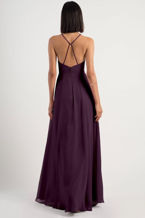 Bryce Bridesmaids Dress by Jenny Yoo - Black Currant