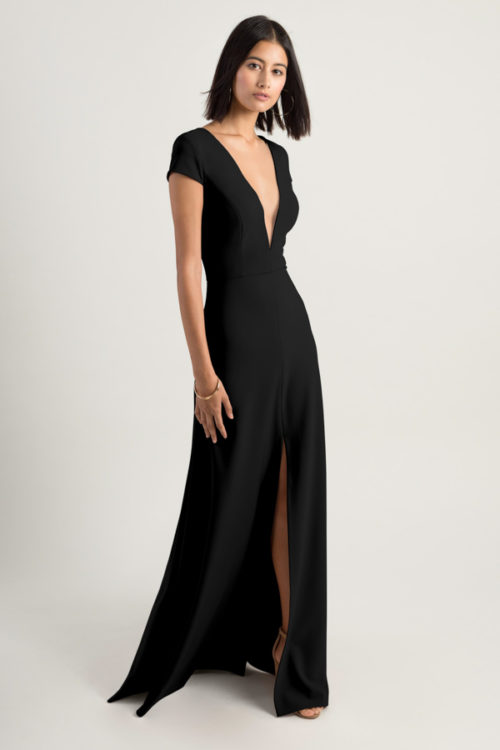 Cara Bridesmaids Dress by Jenny Yoo - Black