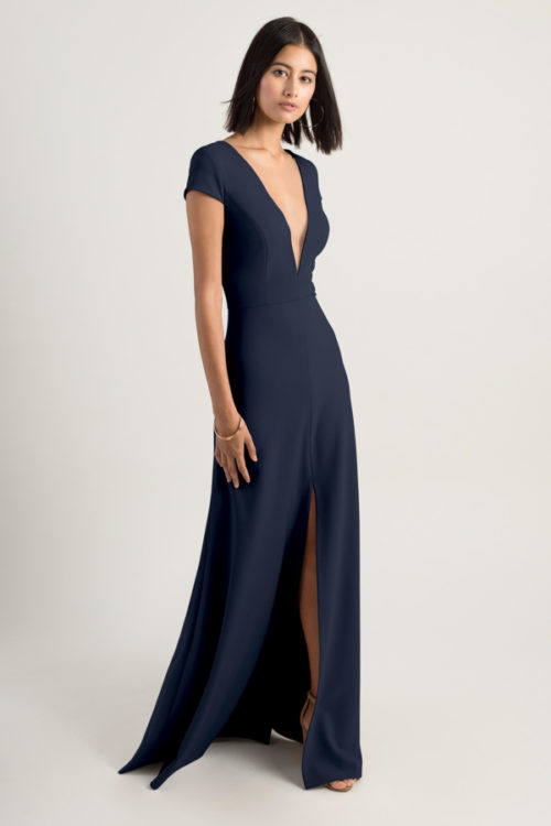 Cara Bridesmaids Dress by Jenny Yoo - Midnight