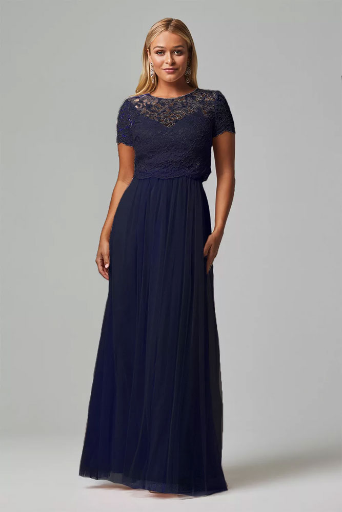 Navy Bridesmaids Dress