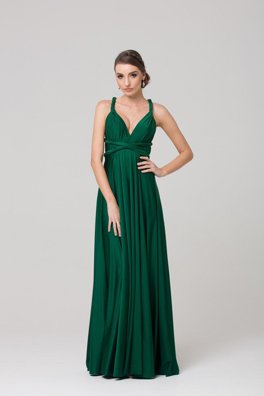 tania olsen emerald bridesmaids dress