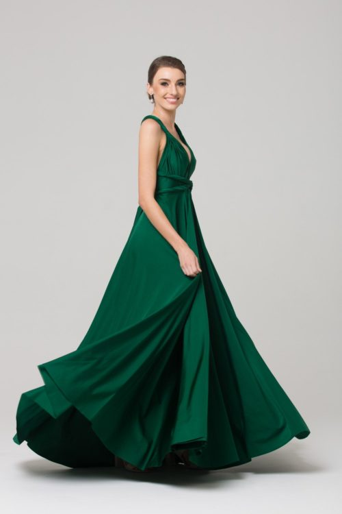 tania olsen emerald bridesmaids dress