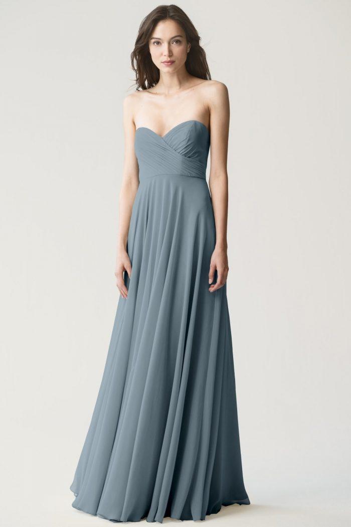 Adeline Bridesmaids Dress by Jenny Yoo - Mayan Blue
