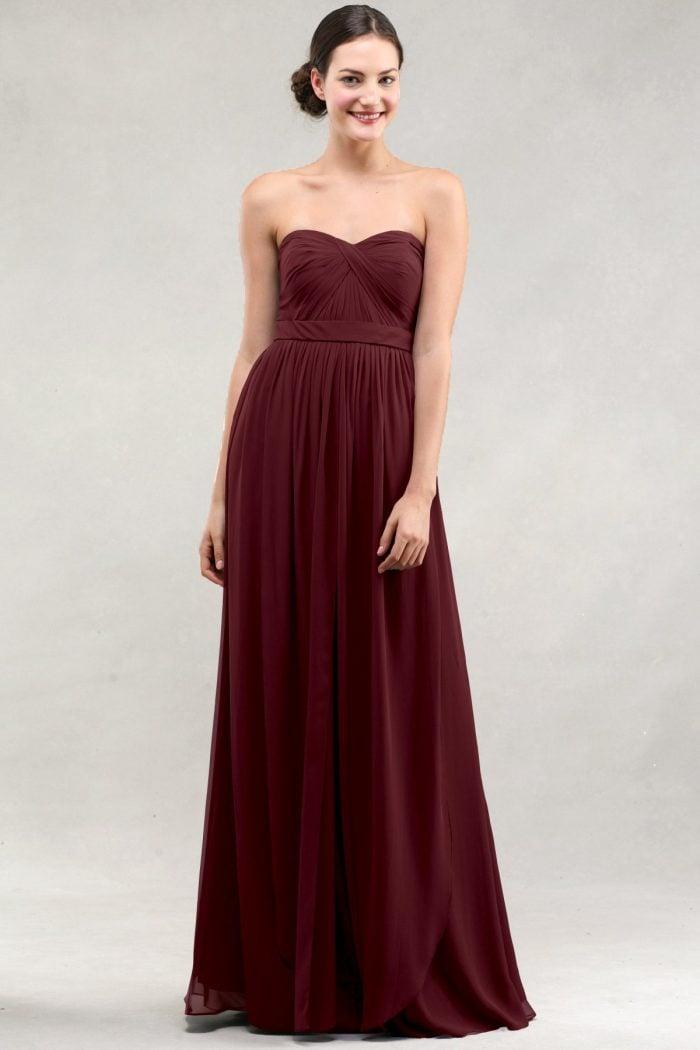 Aidan Bridesmaids Dress by Jenny Yoo - Hibiscus