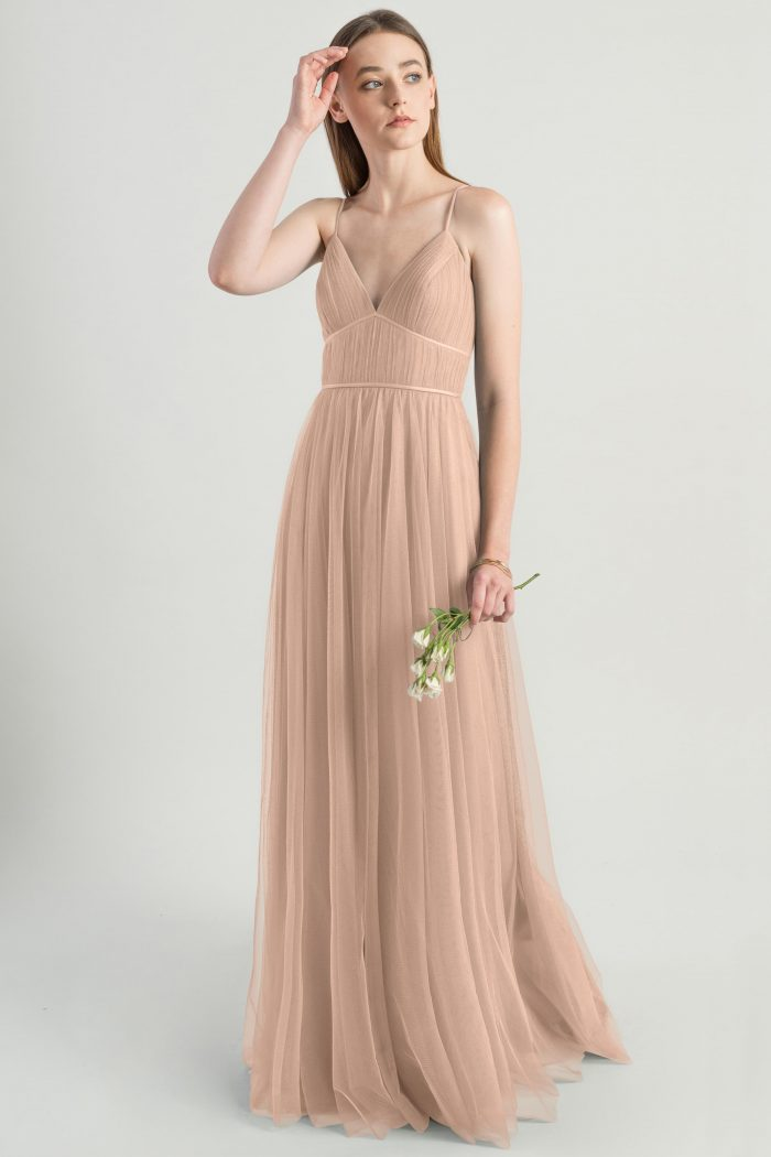 Ali Bridesmaids Dress by Jenny Yoo - Cameo Pink