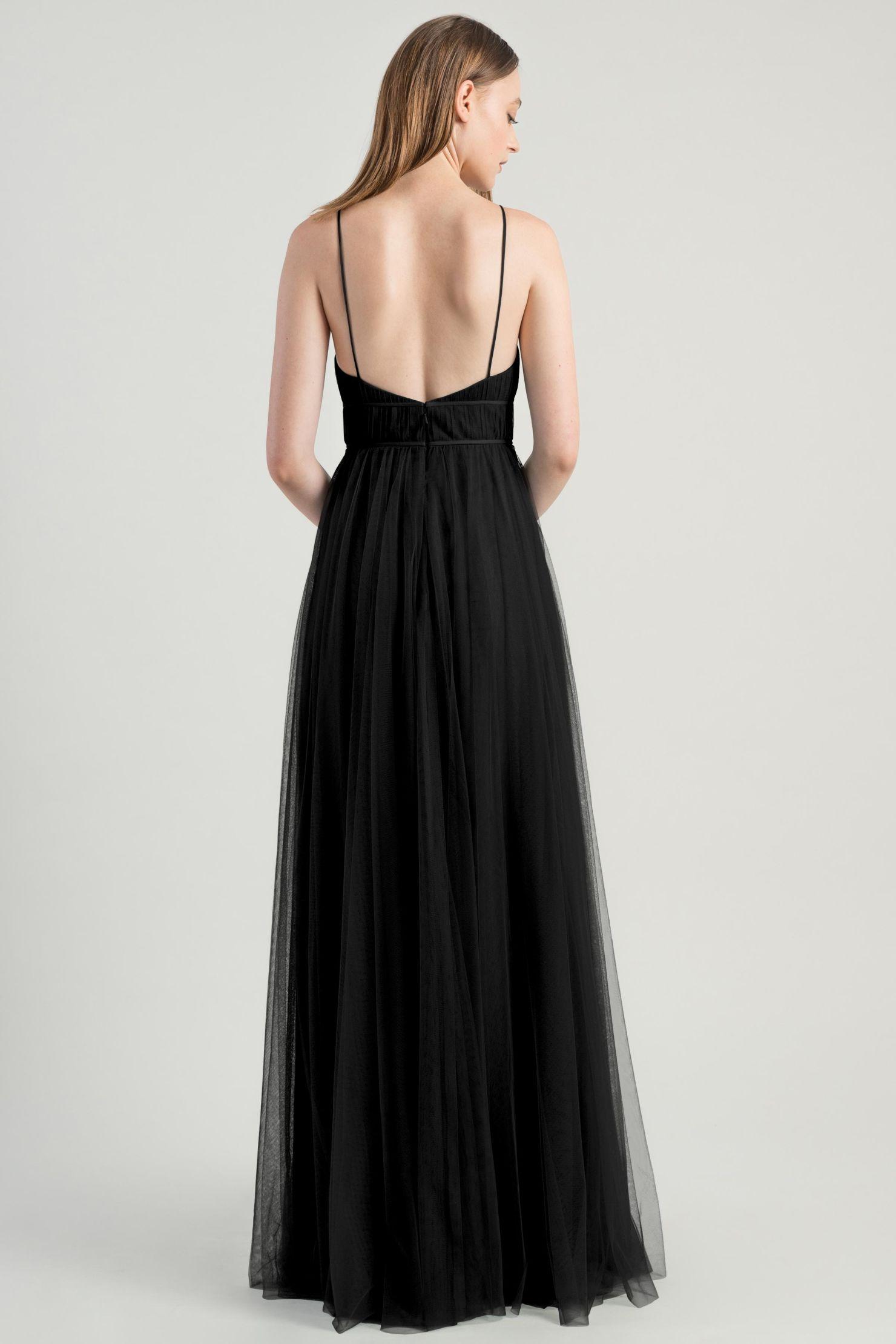 Ali Bridesmaids Dress by Jenny Yoo - Onyx